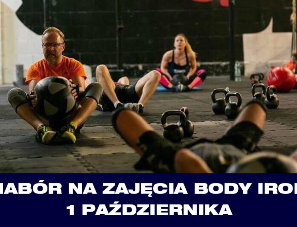 Nabór na zajęcia Body Iron – 1 października