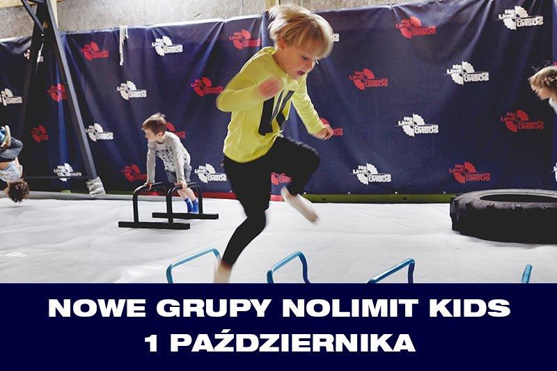 Nowe Grupy NoLimit KIDS