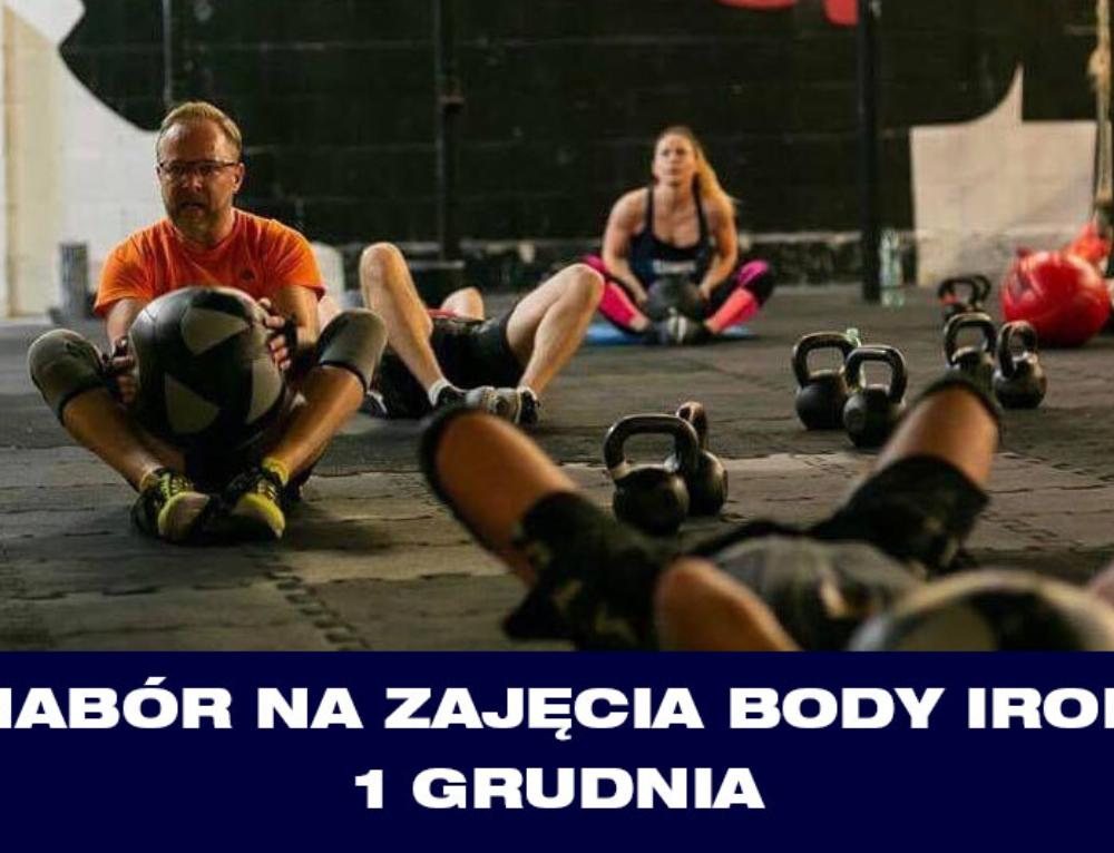Nabór na zajęcia Body Iron – 1 grudnia