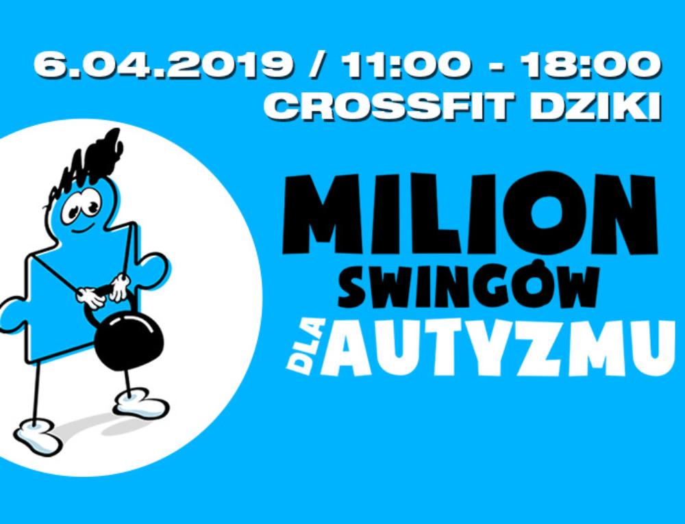 Milion Swingów dla Autyzmu – 2019